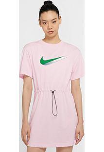 Vestido Nike Sportwear Icon Clsh Dress - Feminino-Pink