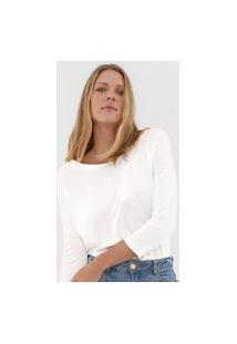 Blusa Hering Lisa Off-White