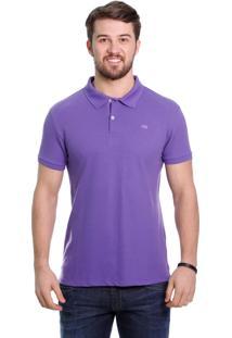 Camisa Polo Javali Basic Violeta
