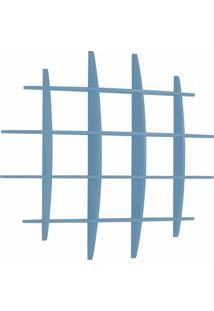 Prateleira Grande 137Cm Taylor Maxima Azul Serenata