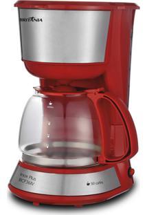 Cafeteira Inox Plus VermelhoBritânia 220V Bcf36Iv
