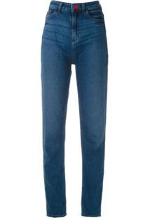 Emporio Armani Calça Jeans Reta - Azul