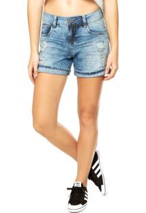 Bermuda Jeans Colcci Azul