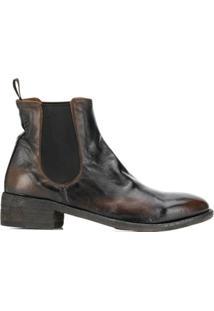 Officine Creative Ankle Boot Seline - Preto