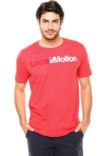 Camiseta Local Motion Hi Standard Vermelha