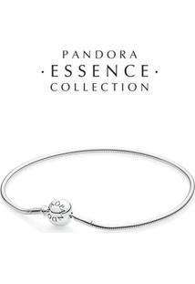 Bracelete Essence Collection De Prata De Lei