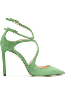 Jimmy Choo Scarpin 'Lancer 100' - Green