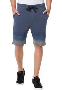Bermuda Calvin Klein Jeans Barra 2 Cores Marinho - P