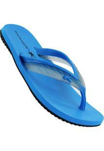 Chinelo Kenner Acqua Glass Masculino - Masculino-Azul