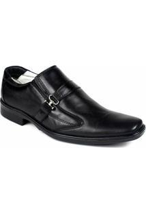 Sapato Ranster Social Confort - Masculino-Preto