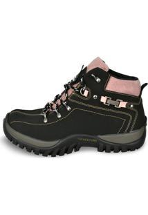 Coturno Adventure Sw Shoes Preto
