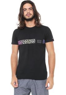 Camiseta Billabong Waves Preta