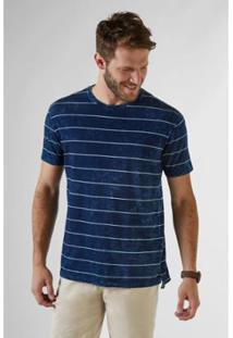 Camiseta Reserva Pf Cascavel Listrada Masculina - Masculino