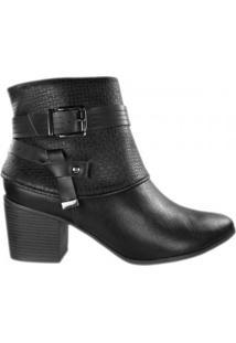 Bota Ramarim Ankle Boot Feminina