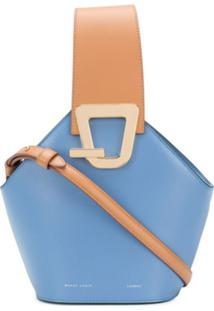 Danse Lente Bolsa Bucket Johnny Mini - Azul