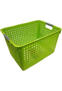Cesta Organizadora Grande Basic Kitchen Verde