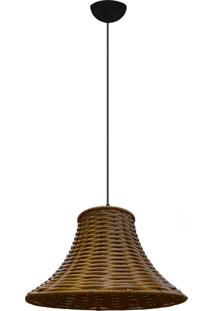 Lustre Pendente De Junco Modelo Chapéu Chines Modelo Pinus