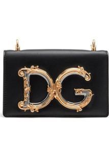 Dolce & Gabbana Pochete D&G Girls - Preto