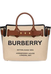 Burberry Bolsa The Medium - Marrom
