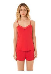 Shorts Doll Alca Night Vermelho