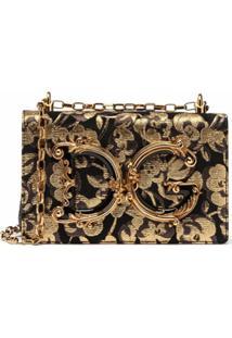 Dolce & Gabbana Bolsa Transversal Girls - Preto