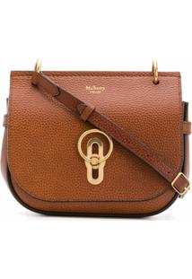 Mulberry Amberley Satchel Small - Marrom