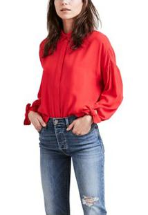 Camisa Terri Levi'S Women'S - Vermelho