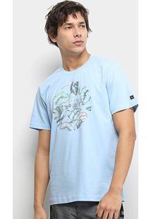Camiseta Rip Curl Island Spirit Masculina - Masculino-Azul Claro