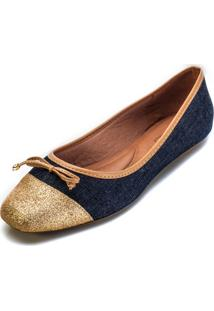 Sapatilha Sense La Dutry 619 Jeans-Cobre