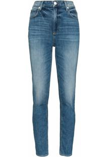 Paige Calça Jeans Slim Sarah - Azul