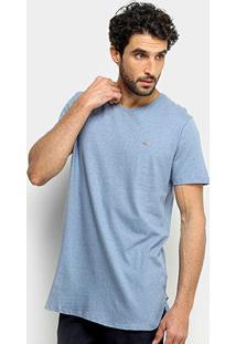 Camiseta Sommer Estampada Masculina - Masculino-Azul