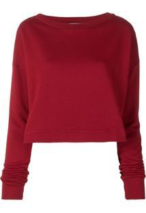 9943a50b1225 Blusa Decote Canoa Vermelha feminina | Shoelover