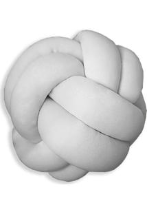 Enfeite Nã³ Malha Branco - Branco - Dafiti