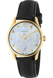 0842fda14e5 Relógio Digital Gucci Preto feminino