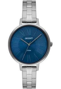 Relógio Orient Ref: Fbss0081 A3Sx Feminino - Feminino-Prata