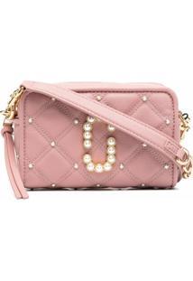 Marc Jacobs Softshot 17 Crossbody Bag - Rosa