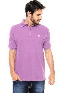Camisa Polo Mr Kitsch Basic Roxa