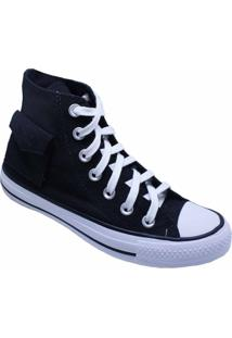 Tênis Converse All Star Chuck Taylor Pocket Hi Preto Ct13120001 - Kanui
