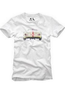 Camiseta Reserva Traseira Masculina - Masculino-Branco