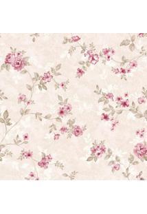 Papel De Parede Stickdecor Adesivo Floral Rosinhas 100Cm L X 300Cm A