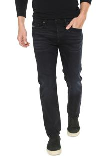 Calça Jeans Diesel Slim Buster Azul