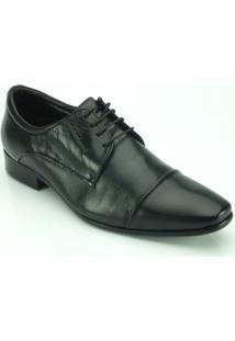 Sapato Teselli Social Jota Pê - Masculino-Preto