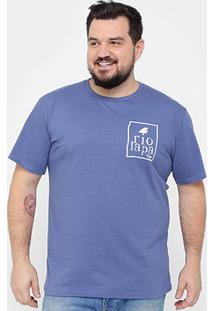 Camiseta Tigs Plus Size Rj Lapa Masculina - Masculino