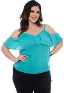 Regata Verde Plus Size
