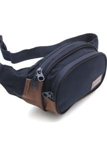 Pochete Rip Curl Waist Bag Stacka Azul-Marinho