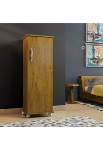 Armário Multiuso Olinda Rovere 1 Porta Com Prateleiras - Arte Móveis
