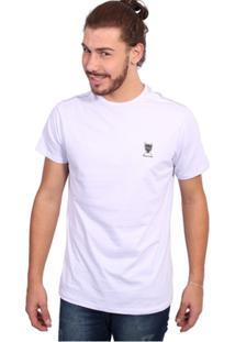Camiseta New York Polo Club Tagless Branco - Masculino