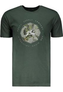 Camiseta Rusty Feer Suplly Silk Masculina - Masculino