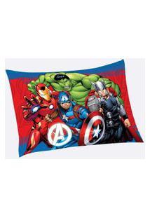 Fronha Infantil Avengers Lepper