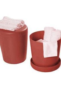 Cachepot Basic Vermelho - Tramontina